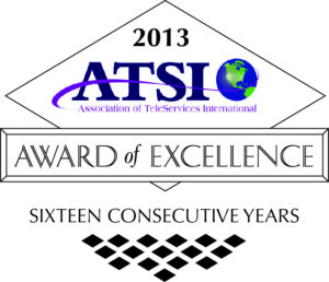 2013 ATSI Award of Excellence